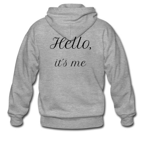 Hello Its me Sweater (Dames) - Mannenjack Premium met capuchon