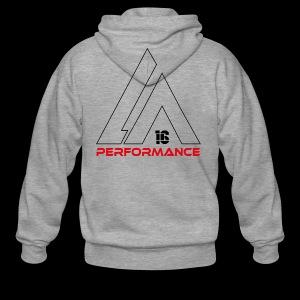 LA Performamce black/red - Männer Premium Kapuzenjacke