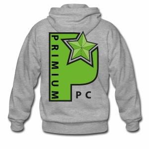 PrimiumPC Basic - Männer Premium Kapuzenjacke