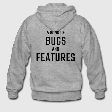 Cantique des bugs et fonctionnalités - Veste à capuche Premium Homme