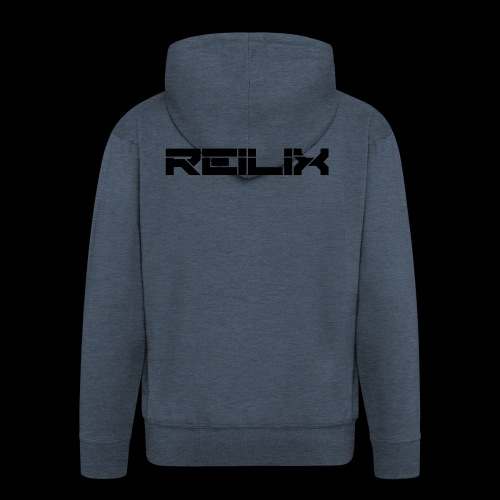 Reilix Logo Merch - Männer Premium Kapuzenjacke