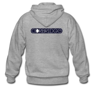 corbridge logo - Männer Premium Kapuzenjacke
