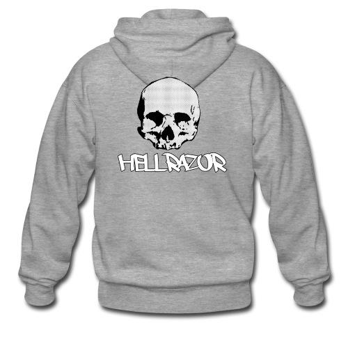 Hellrazor MK4 - Felpa con zip Premium da uomo