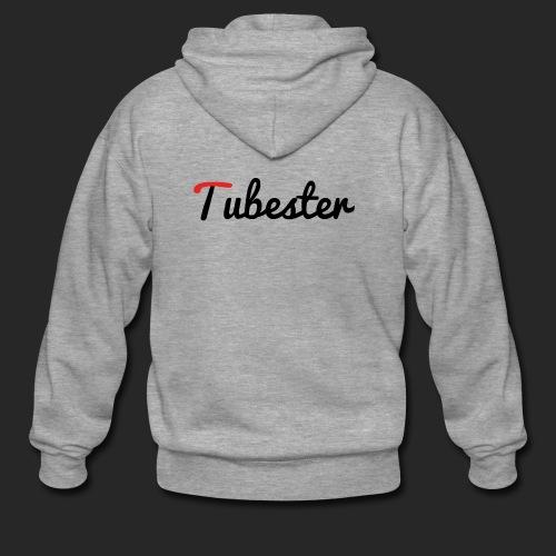 Tubester font - Men's Premium Hooded Jacket