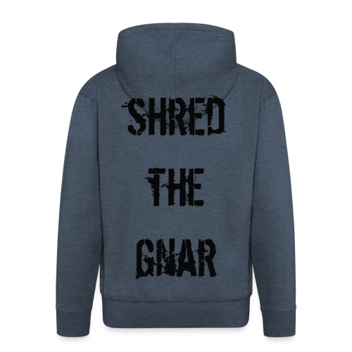 Shred the Gnar - Men's Premium Hooded Jacket