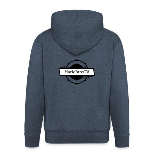 HaricBrosLogo - Männer Premium Kapuzenjacke