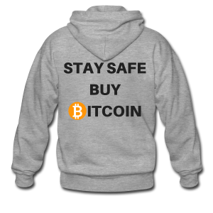 stay safe buy bitcoin - Männer Premium Kapuzenjacke
