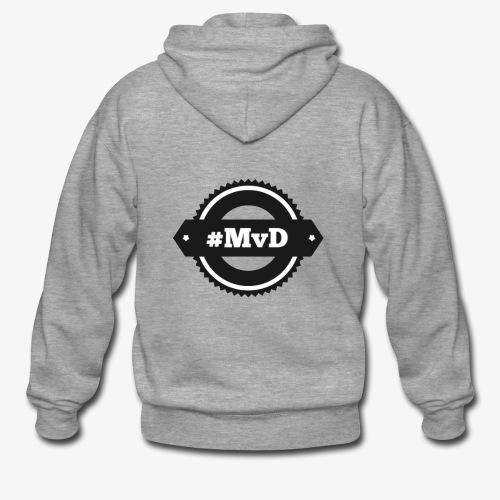 #MvD Logo - Männer Premium Kapuzenjacke