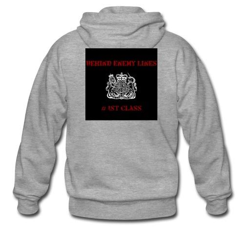 Front - Men's Premium Hooded Jacket