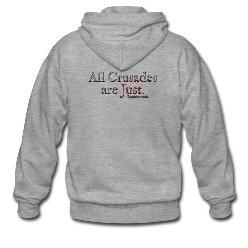 All Crusades Are Just. Alt.1 - Men's Premium Hooded Jacket