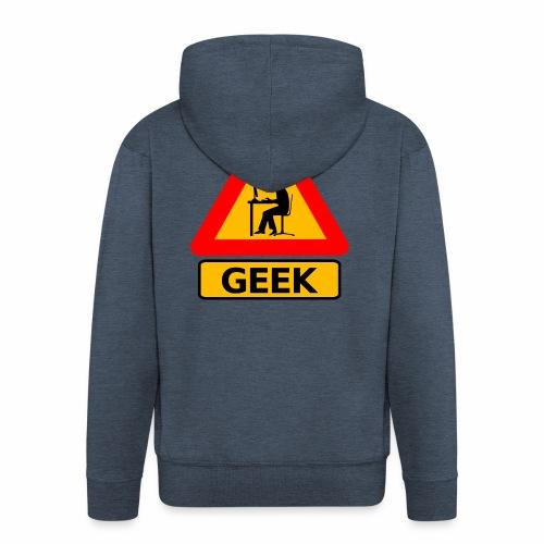 Geek - Veste à capuche Premium Homme