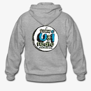 U & I Logo - Men's Premium Hooded Jacket