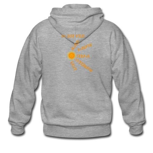 Sonnenlicht Sonnenschein - Männer Premium Kapuzenjacke