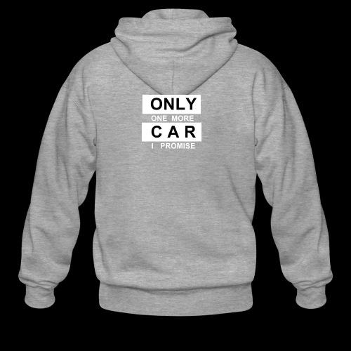 Only One More Car I Promise - Männer Premium Kapuzenjacke