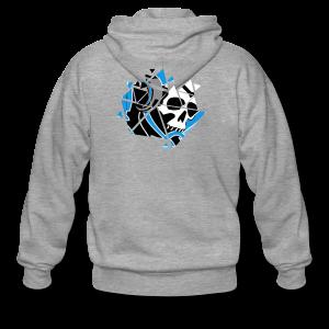 Official Logo Of The Hooded Gamer - Men's Premium Hooded Jacket