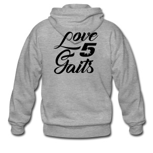 Love 5Gaits - Men's Premium Hooded Jacket