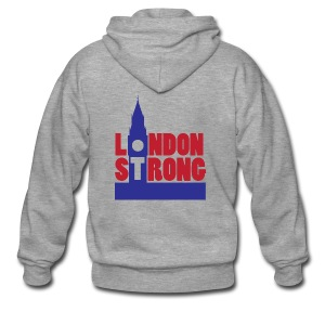London Strong I - Men's Premium Hooded Jacket
