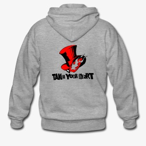 take your heart - Männer Premium Kapuzenjacke
