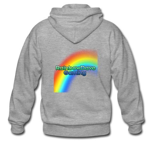 RainbowDave Gaming Logo - Men's Premium Hooded Jacket