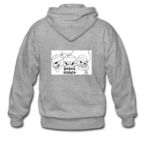 Paper Plans - Men's Premium Hooded Jacket