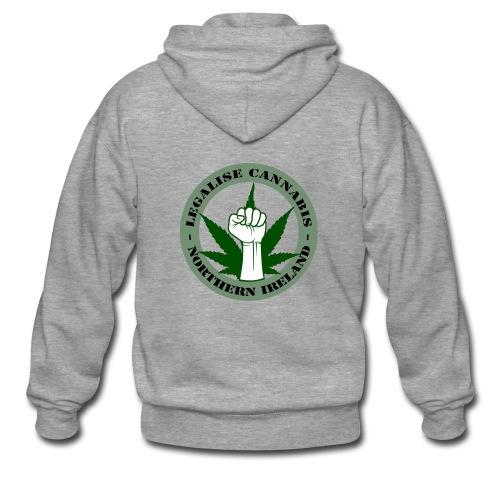 Legalise Cannabis - Northern Ireland - Men's Premium Hooded Jacket
