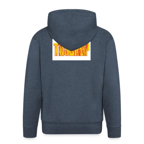 T-shirt th3 drop - Felpa con zip Premium da uomo