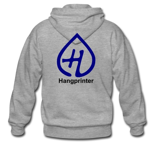 Hangprinter logo and text - Premium-Luvjacka herr