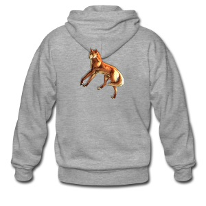 Fox of the night - Men's Premium Hooded Jacket