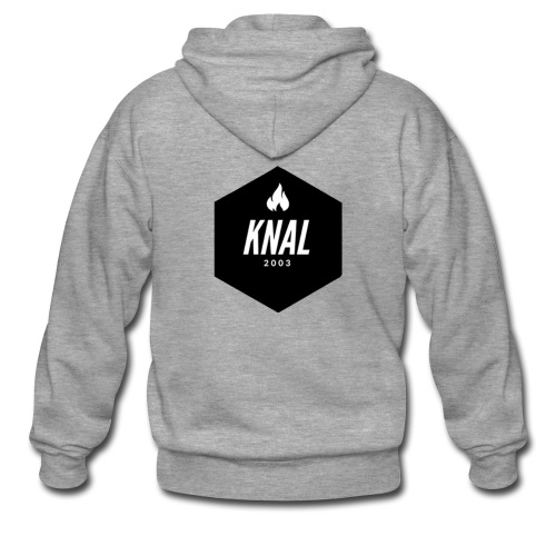 Knal2003 shirt nieuw logo - Mannenjack Premium met capuchon