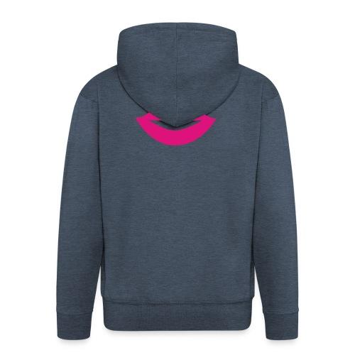 2000px-Lips_Silhouette-svg-png - Veste à capuche Premium Homme