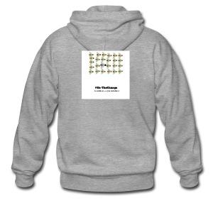 BeTheChange 1 - Men's Premium Hooded Jacket