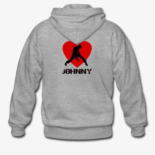Johnny - Veste à capuche Premium Homme