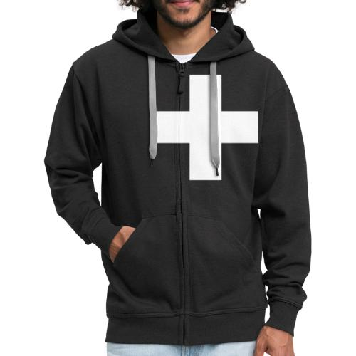 Kreuz - Männer Premium Kapuzenjacke