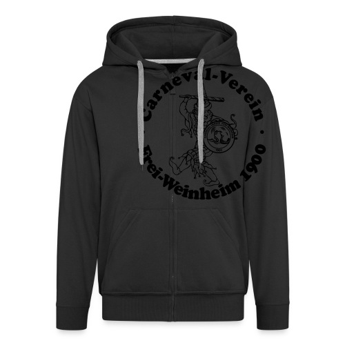 logopullivector - Männer Premium Kapuzenjacke