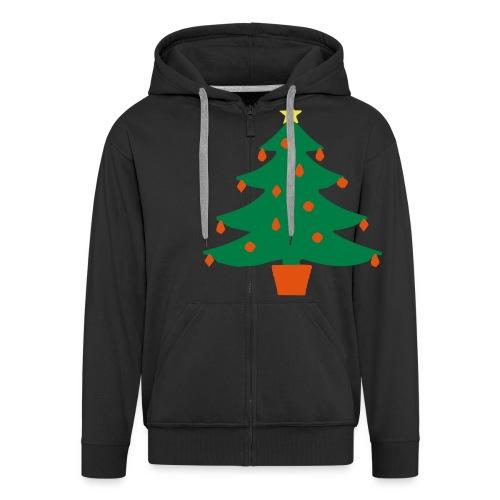Christmas Tree - Men's Premium Hooded Jacket