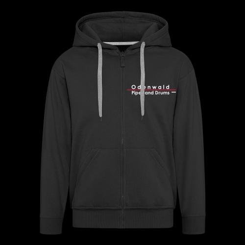 Odewald Pipes and Drums Logo vektorisiert - Männer Premium Kapuzenjacke