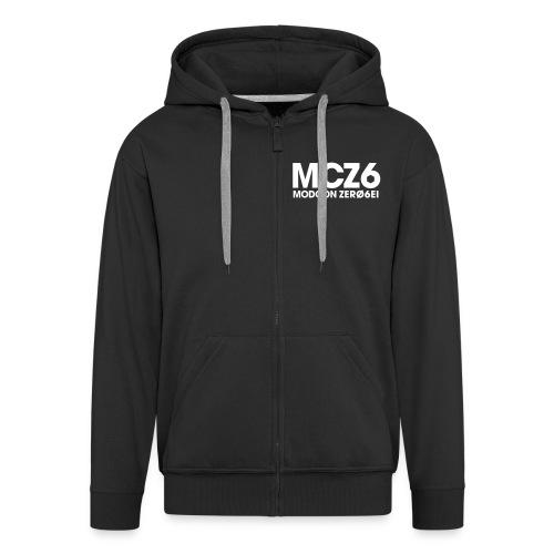 mcz6 vettoriale - Felpa con zip Premium da uomo