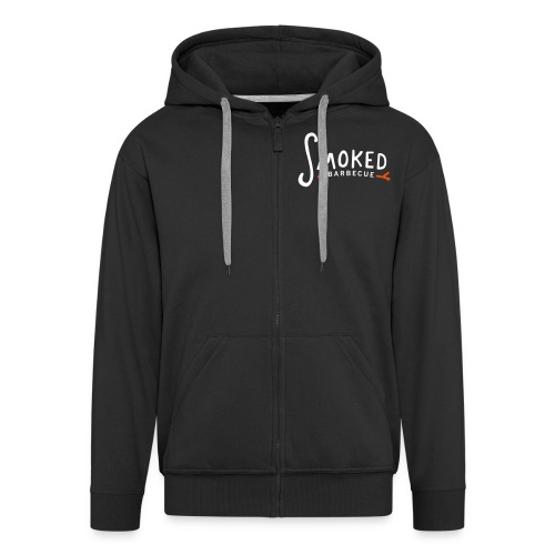 Smoked_logo_color - Männer Premium Kapuzenjacke