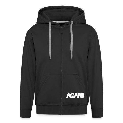 agapo style - Männer Premium Kapuzenjacke