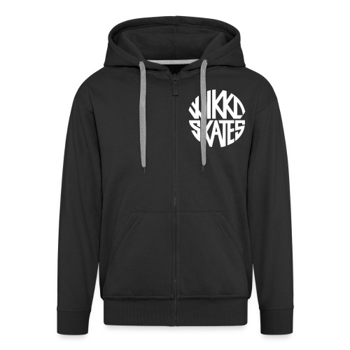 wikkoskates logo vektori - Men's Premium Hooded Jacket