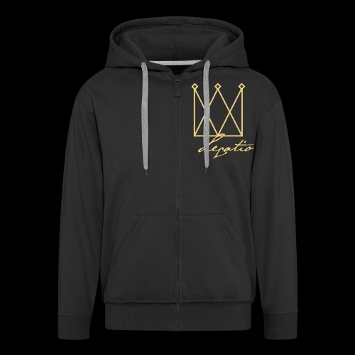 Legatio Script - Men's Premium Hooded Jacket