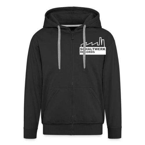 schaltwerk logo orginal - Männer Premium Kapuzenjacke
