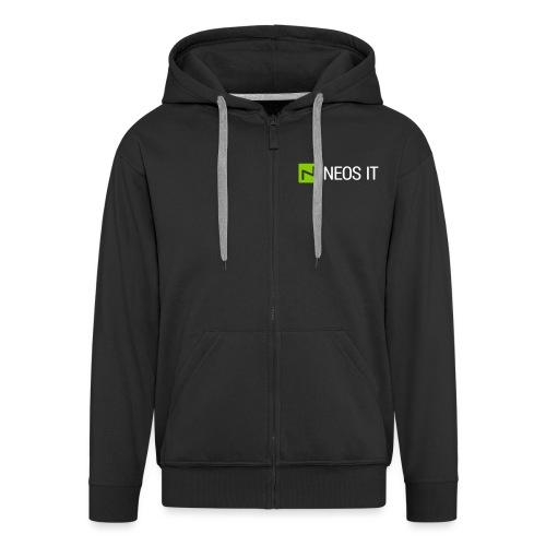 NeosIT Logo 2017 (2c) - Männer Premium Kapuzenjacke