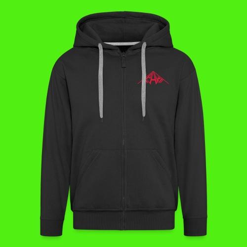 PAW Logo - Men's Premium Hooded Jacket