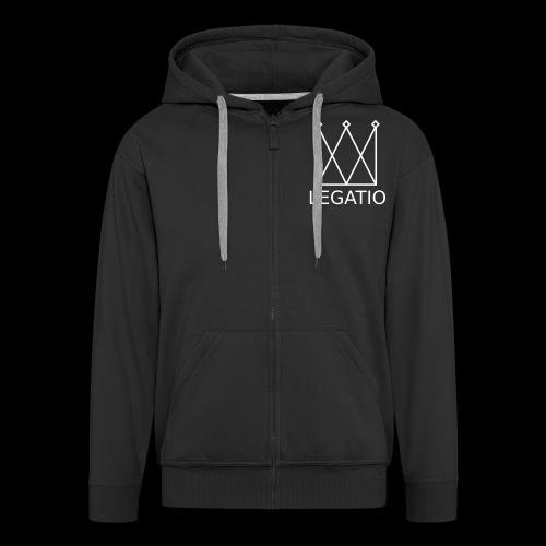 Legatio Plain - Men's Premium Hooded Jacket