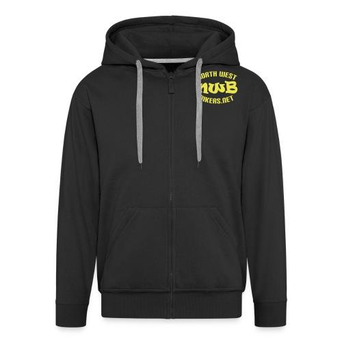 nwb logo4 - Men's Premium Hooded Jacket