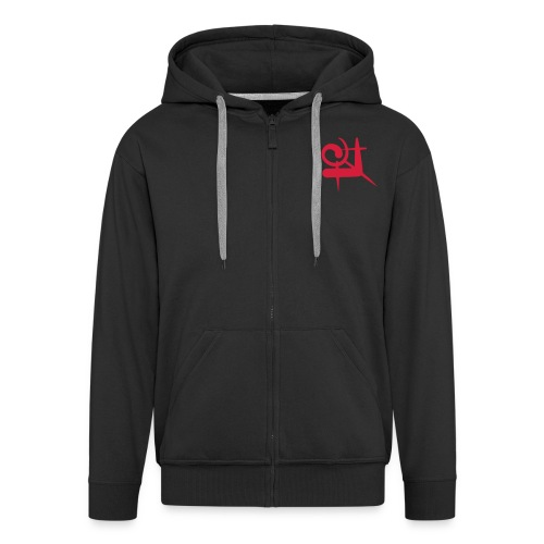 correspondencesingle1 - Men's Premium Hooded Jacket