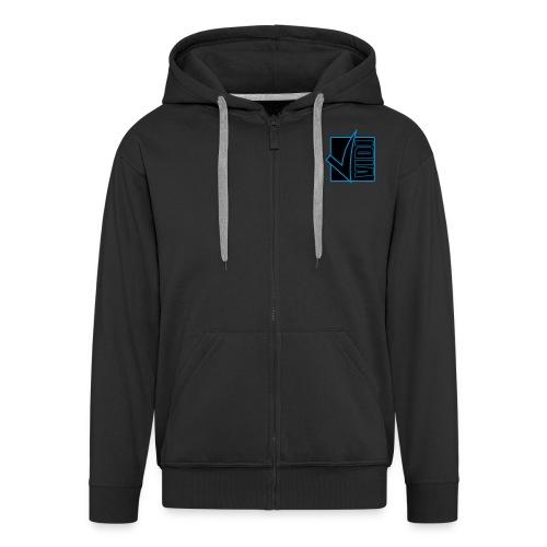 vidibadge - Men's Premium Hooded Jacket