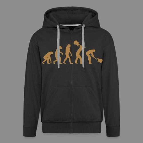 Evolution Rock - Chaqueta con capucha premium hombre