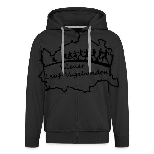 Laufvagabunden T Shirt - Männer Premium Kapuzenjacke